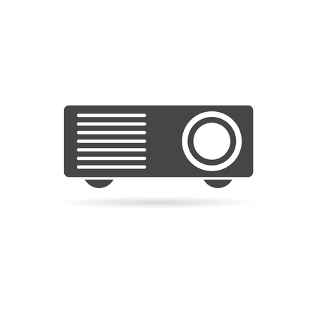 taught: Projector icon Illustration
