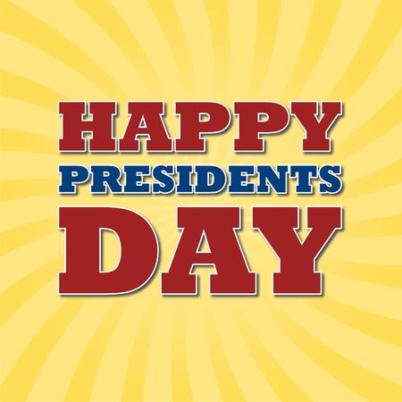 presidents: Presidents Day  vector stock illustration
