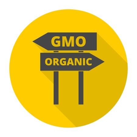 transgenic: GMO or organic sign