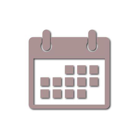 calender icon: Vector Calendar icon