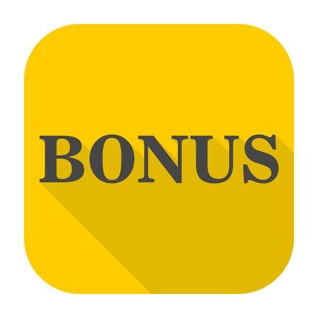 extra money: Bonus Sign icon