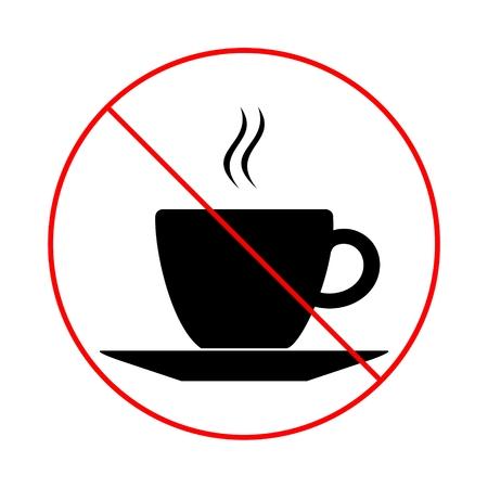 breaks: No coffee breaks - No coffee sign