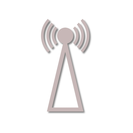 wireles: Transmitter simple icon