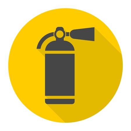 suppression: Fire extinguisher icon