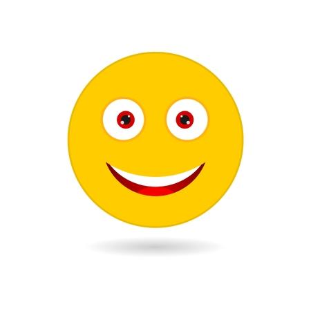 scheming: Yellow smile Illustration