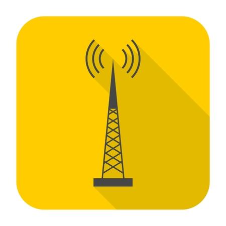 transmitter: Transmitter simple icon
