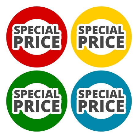Special price icons set