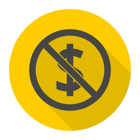 No money sign icon