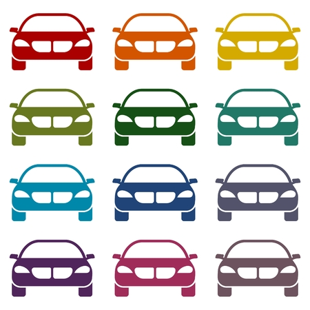 simple: Car Simple icons set