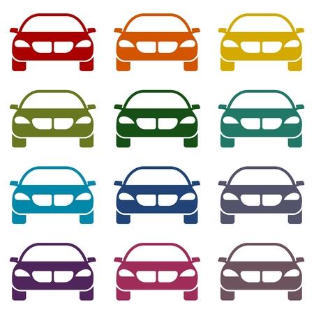 cabrio: Car Simple icons set