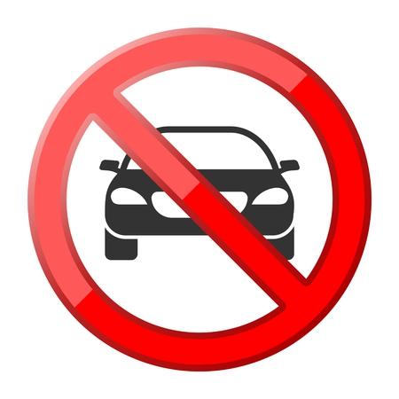 cabrio: No car or no parking traffic sign