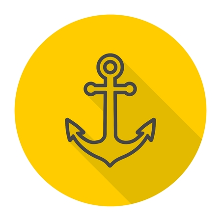 welded: Anchor icon Illustration
