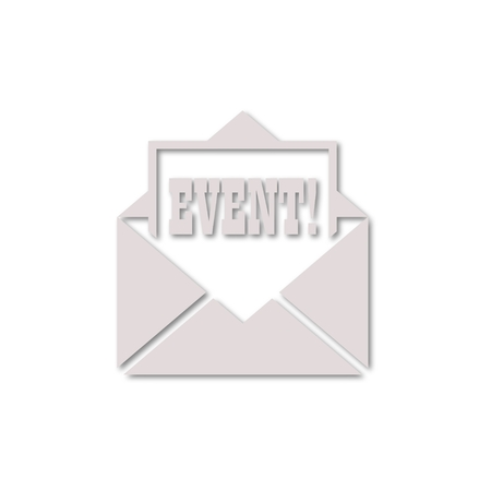 Event letter icon