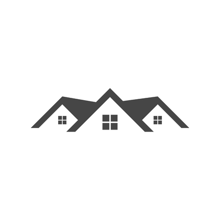 roofer: Home roof icon