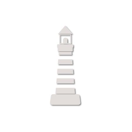 leading light: Lighthouse icon