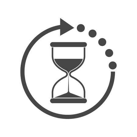 Icône Hourglass Vecteurs