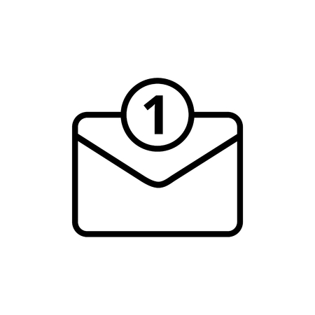 Unread mail icon