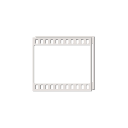 photographic film: Camera Roll, photographic film, camera film icon. Flat design style
