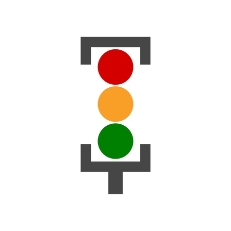 trafficlight: Vector image traffic light Illustration