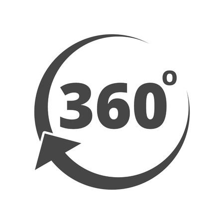 Angle 360 Degrees Sign Icon Royalty Free Cliparts Vectors And