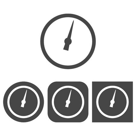 manometer: Manometer - vector icon