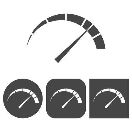 Manómetro - icono de vectores