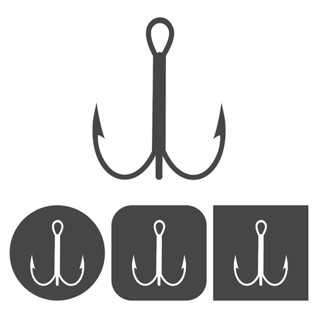 entice: Hook icon - vector icons set