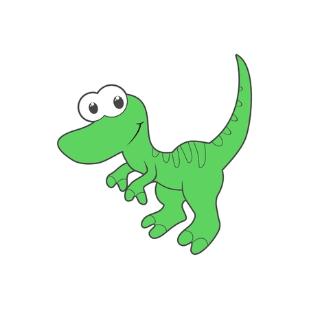 mesozoic: Cute Cartoon Dinosaur icon