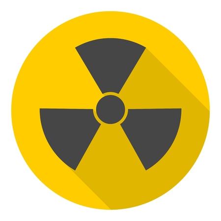 radiacion: Símbolo de radiación Vectores