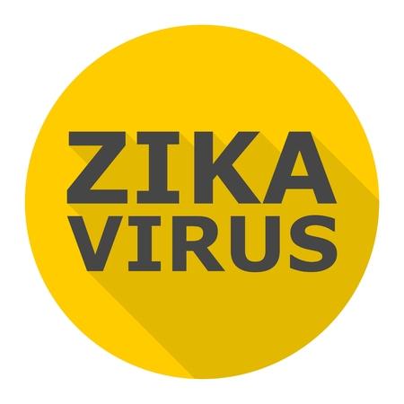 Zika virus icon