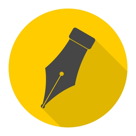 ink pot: Ink pen Icon