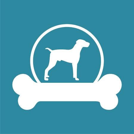 Dog design icon Stock Vector - 63512205