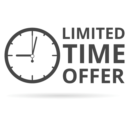 limited time: Limited time offer icon