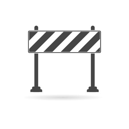 barrier: Barrier icon, Roadblocks icon Illustration