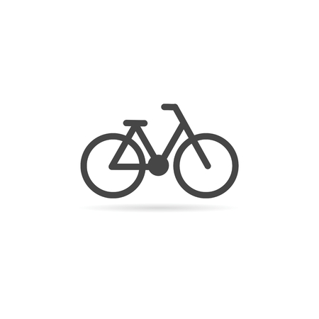 Bicycle symbol and icon Illustration