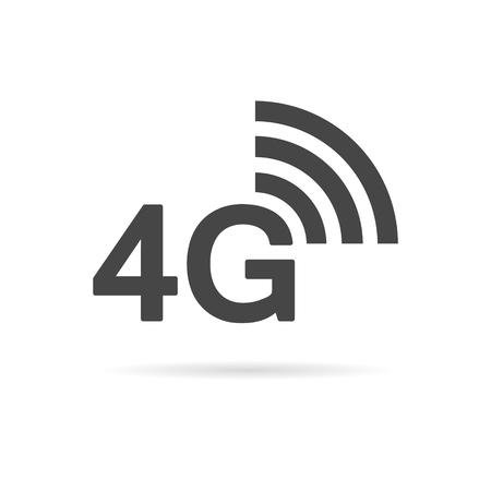 4G icon Illusztráció