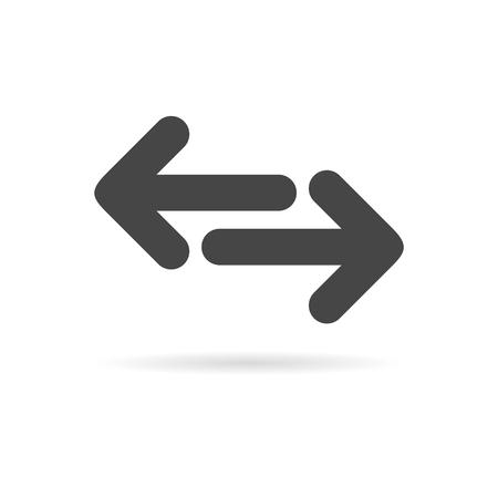 Exchange arrow icon Фото со стока - 64882554