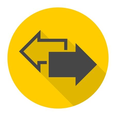 Exchange arrow icon