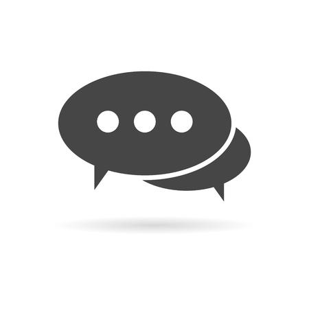 Speech bubbles, Forum icon, Blog icon