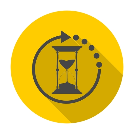 sand watch: Hourglass icon