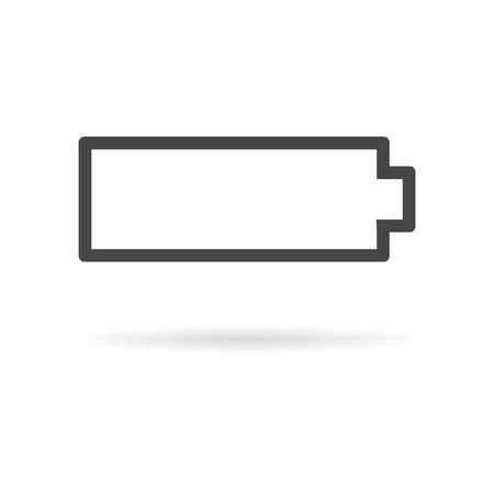 Low battery icon, Battery icon