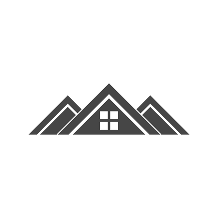 Roof Icon, Roof Icon Vector, Home roof icon