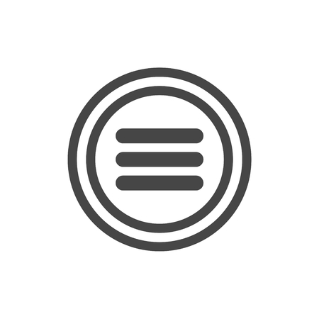 web menu: Menu vector icon, web menu icon