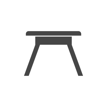 Camping table Icon Vector Illustration
