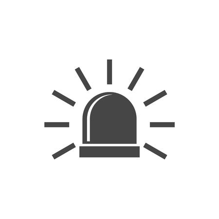 forewarn: Siren icon for web and mobile, Alarm siren vector icon