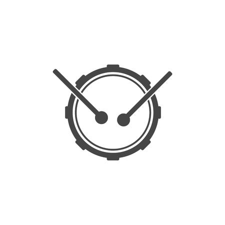 Drum muziekinstrument pictogram, Snare Drum Icon