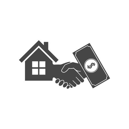 Cash For House Banque d'images - 68253927
