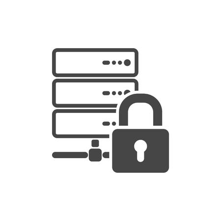 lock symbol: Lock Database symbol, Locked database Icon