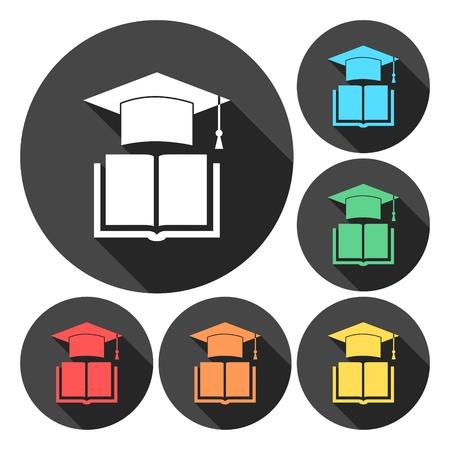 Icône de l'école et de l'éducation Vecteurs