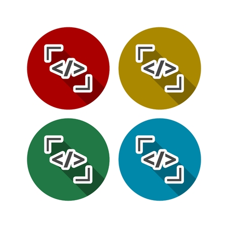 syntax: Coder icon color set